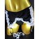 CSL セクシーランジェリー チョーカー&ブレス付き/ブラ&ガーター&ショーツ - 縮小画像5