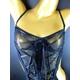CSL セクシーランジェリー クロスデザインビスチェ&ショーツ - 縮小画像1