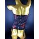 CSL セクシーランジェリー サテン刺繍チューブビスチェ&ショーツ 写真3