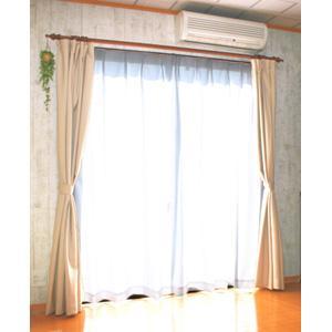 ユニチカ サラクールの断熱・目隠しカーテン 2枚組 100×176