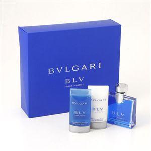 BVLGARI(ブルガリ) メンズフレグランスコフレ ブルガリ ブルー プールオム キット - 拡大画像