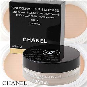 CHANEL(シャネル) タンコンパクト クリームユニヴェルセル 50番 - 拡大画像