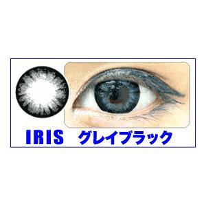 IRIS OHYAMA(アイリスオーヤマ) カラコン 全5色 2枚セット グレイブラック - 拡大画像