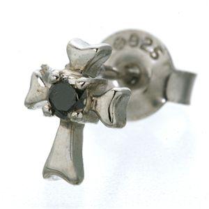 Brillo Dosel(ブリロ ドッセル) ダイヤクロスピアス crimen ホワイトバージョン  h01