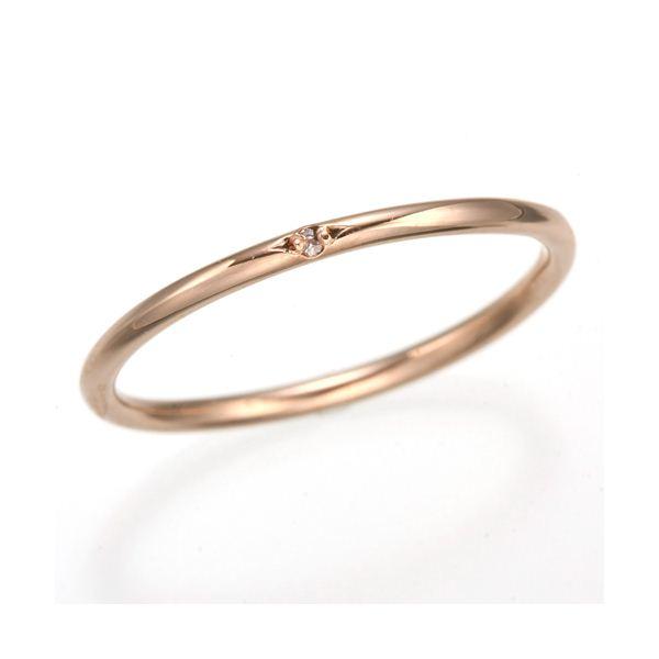 天然ピンクダイヤリング 指輪 【ピンク】11号f00