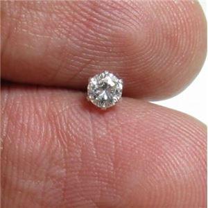 プラチナ Iクラスダイヤピアス0.2ct h02