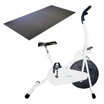 簡単ダイエット運動におすすめ!エアロバイク サイクルツイスタースリムWT550+専用床保護マットセット