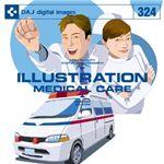 写真素材 DAJ324 ILLUSTRATION〜MEDICAL CERE 【イラストシリーズ〜医療と介護】