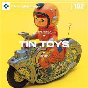 写真素材 DAJ192 TIN TOYS 【ブリキのおもちゃ】 - 拡大画像