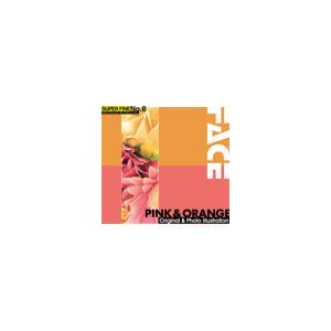 写真素材SUPERFINENo.8PINK&ORANGE(ピンクとオレンジ色の花)