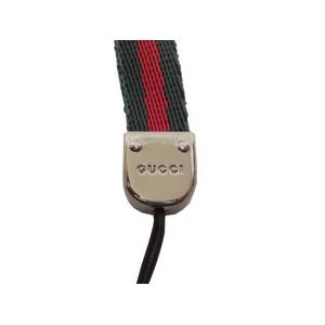 GUCCI(グッチ) ストラップ 162364 H900R 8460(GREEN/RED)