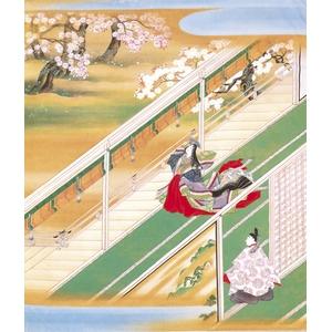 源氏物語千年記 記念トレシー 『花宴(はなのえん)』