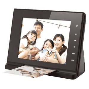 スキャナ内蔵8インチデジタルフォトフレーム DVF828