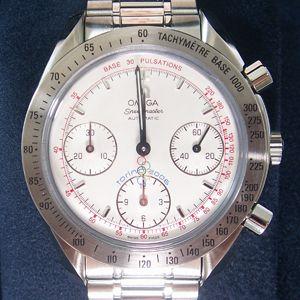 【限定品】OMEGA(オメガ) 腕時計 スピードマスター トリノオリンピックモデル 3538.30 - 拡大画像