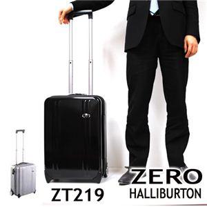 ZERO HALLIBURTON (ゼロハリバートン)スーツケース ZT219 (BLACK・SILVER)