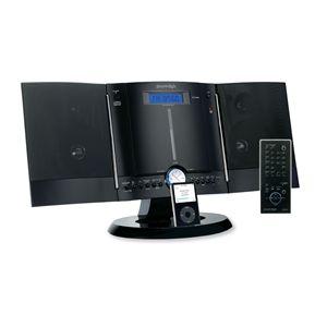 SMART STYLE CDコンポ FSC-401 BK iPod対応 ブラック
