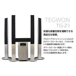 5.1CH サラウンドスピーカーシステム TG-Z SD/USB対応 - 拡大画像