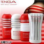 TENGA 4種セット(ディープ・ディープSS・ローリング・ソフトチューブSS)