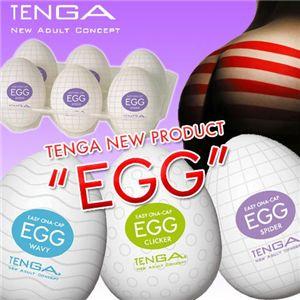 TENGA(テンガ) EGG 6個セット WAVY/エッグ ウェービー