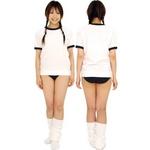 CG046 コスプレ 体育の時間 ネイビー 体操着(Tシャツ ブルマ)