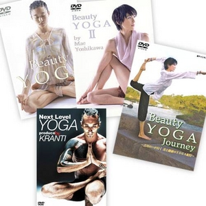 YOGA DVD 4部作セット