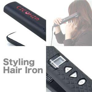 スタイリングヘアアイロン ブラック