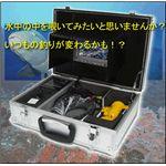 7インチ液晶付水中カメラ│SWJ-3203DT