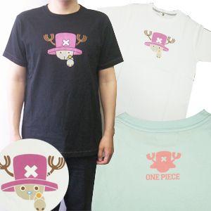 ワンピース チョッパーTシャツ ホワイト L - 拡大画像