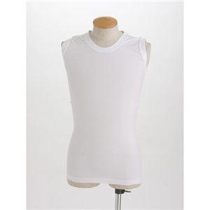 Fine Walker(ファインウォーカ) ノースリーブTシャツ4枚セット ホワイト LLサイズ - 拡大画像