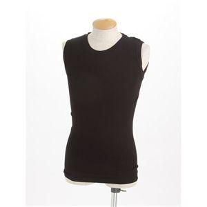 Fine Walker(ファインウォーカ) ノースリーブTシャツ4枚セット ブラック LLサイズ - 拡大画像