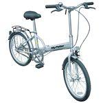 価格¥11,500(税込¥12,075)   マイパラス M-27 折畳自転車20型 フォーカスシルバー