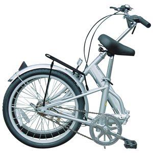 MYPALLAS(マイパラス) 折り畳み自転車 M-27 20インチ フォーカスシルバー