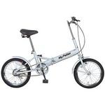 【折畳自転車】 MYPALLAS(マイパラス) 折畳自転車16型 M-101W ホワイト