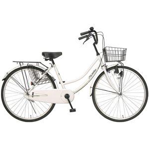 MYPALLAS(マイパラス) 自転車 M-513 26インチ ホワイト (シティサイクル) - 拡大画像