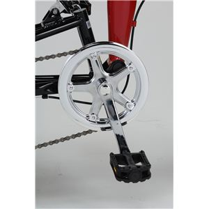 MYPALLAS(マイパラス) 折り畳み自転車 M-207 20インチ 6段変速 Wサス シルバー 【マウンテンバイク】