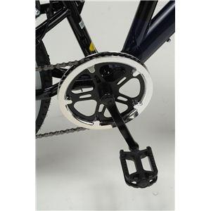 MYPALLAS(マイパラス) 自転車 M-650-2 26インチ 6段変速 リアサス TypeII ホワイト 【クロスバイク】3