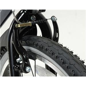 MYPALLAS(マイパラス) 自転車 M-650-2 26インチ 6段変速 リアサス TypeII ホワイト 【クロスバイク】4