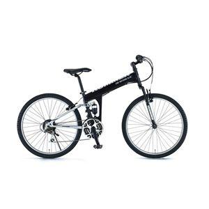 HUMMER(ハマー) 自転車 26インチ ATB268 W-sus LK ブラック - 拡大画像