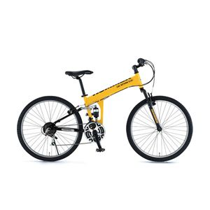 HUMMER(ハマー) 自転車 26インチ ATB268 W-sus LK イエロー - 拡大画像