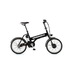 HUMMER(ハマー) 自転車 20インチ AL-ASSIST203 ブラック