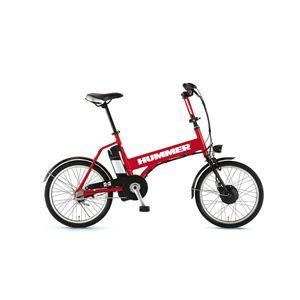 HUMMER(ハマー) 自転車 20インチ AL-ASSIST203 レッド - 拡大画像