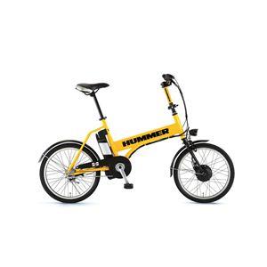 HUMMER(ハマー) 自転車 20インチ AL-ASSIST203 イエロー