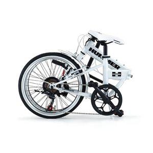 HUMMER(ハマー) 折り畳み自転車 20インチ FDB207 ホワイト