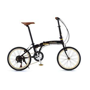 CADILLAC(キャデラック) 自転車 20インチ AL-FDB207 Jブラック - 拡大画像