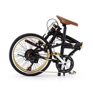 CADILLAC(キャデラック) 自転車 20インチ AL-FDB207 Jブラック