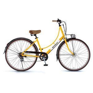 RENAULT(ルノー)自転車 26インチ 266L Classic オレンジ 【シティーバイク】 - 拡大画像