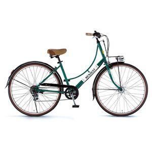 RENAULT(ルノー)自転車 26インチ 266L Classic グリーン 【シティーバイク】