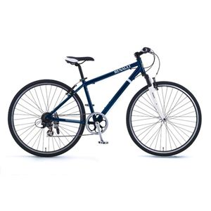 RENAULT(ルノー)自転車 700C AL-CRB7006 F-sus ブルー 【クロスバイク】
