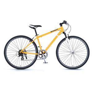 RENAULT(ルノー)自転車 700C AL-CRB7006 F-sus オレンジ 【クロスバイク】