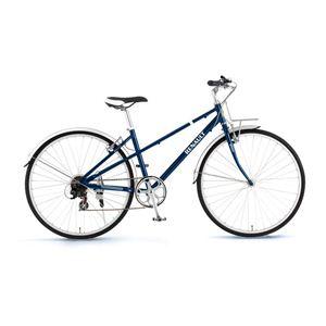 RENAULT(ルノー)自転車 700C AL-CRB7006 Mixte ブルー 【クロスバイク】